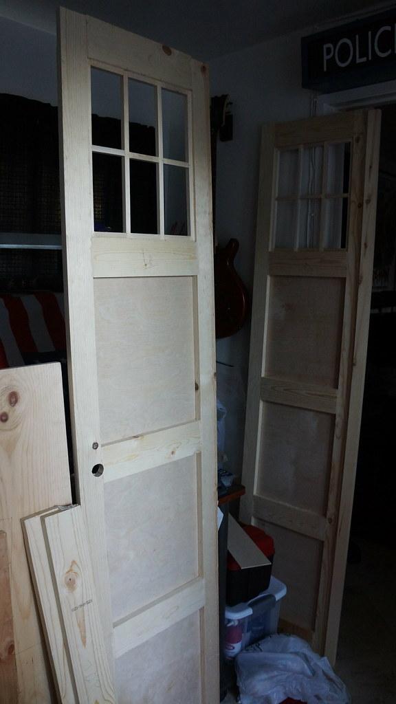 Beautiful ... TARDIS Bedroom Doors | By Dale Rem Deikun
