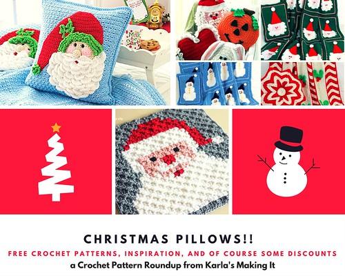 Christmas Pillows!! blog photo