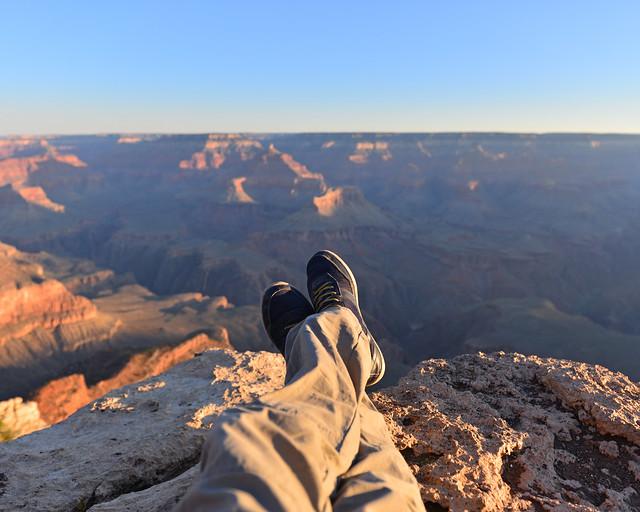 De las mejores cosas que ver en Estados Unidos y la Costa Oeste es un amanecer en el Gran Cañón del Colorado