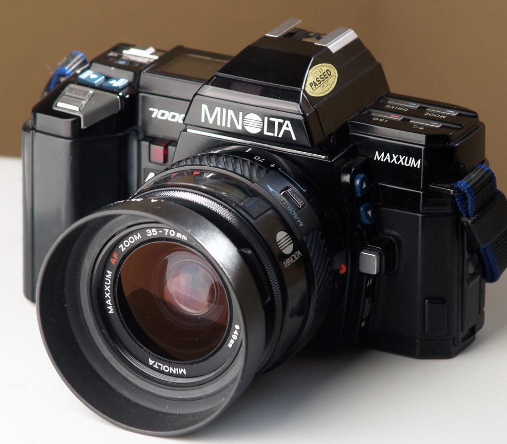 Minolta 7000 Pictures Minolta Maxxum 7000 1985