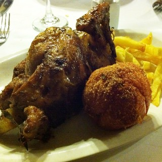 Rotisserie Chicken @ Los Caracoles | by queenkv