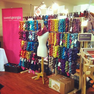 Ready for day 2 at @knitsocial #knitcity! | by sweetgeorgia