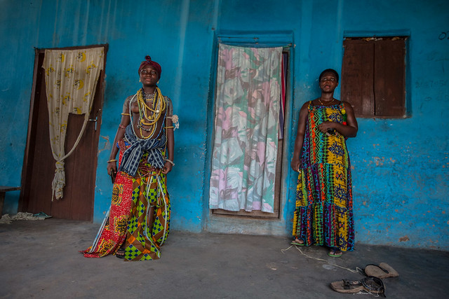 Culture: Check Out Ghanas Famous Beads Produce Tribe; The