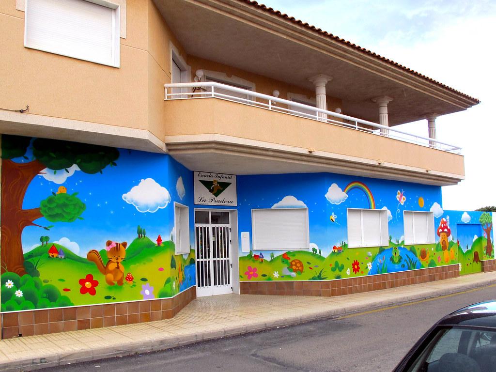 Escuela infantil la pradera pida presupuesto y compare for Murales infantiles