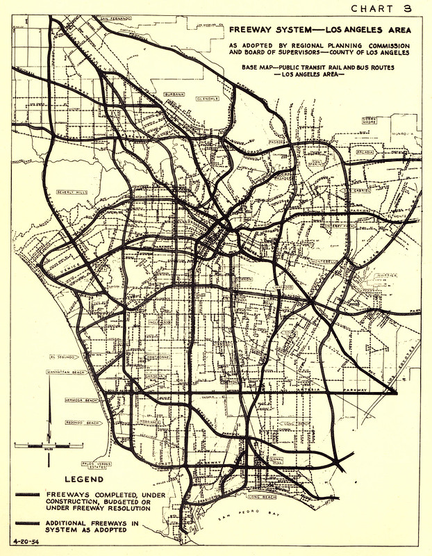 Freeway System Los Angeles Area This Freeway System Map Flickr - Los angeles freeway system map
