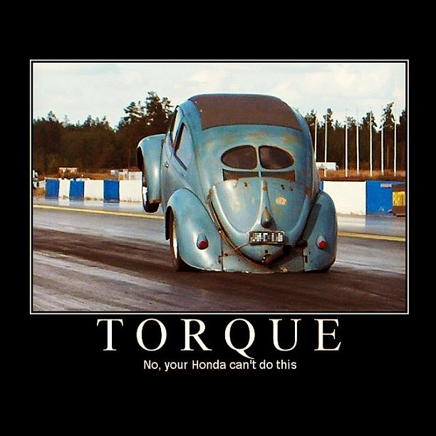 Torque No Your Honda Can T Do This Aircooled Beetle