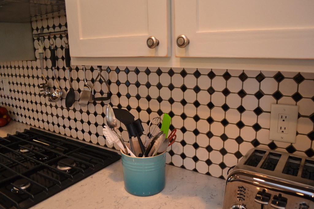 Hex Backsplash Kitchen