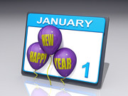 New Year January 1 | by One Way Stock