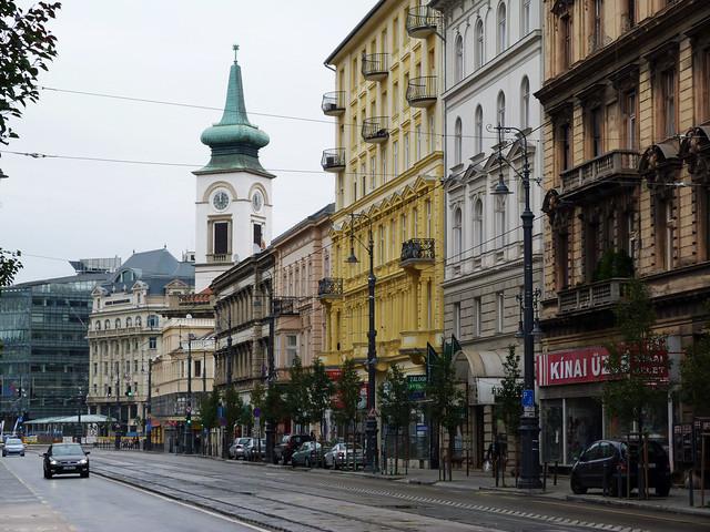Una calle de Budapest