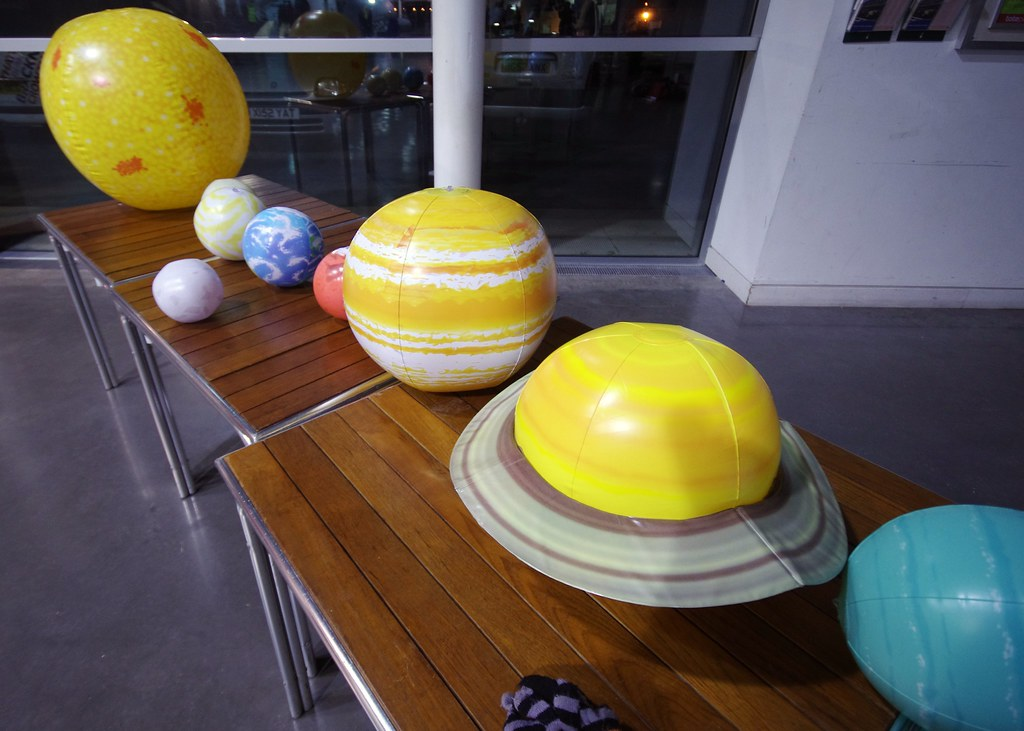 inflatable projection with planets - photo #18