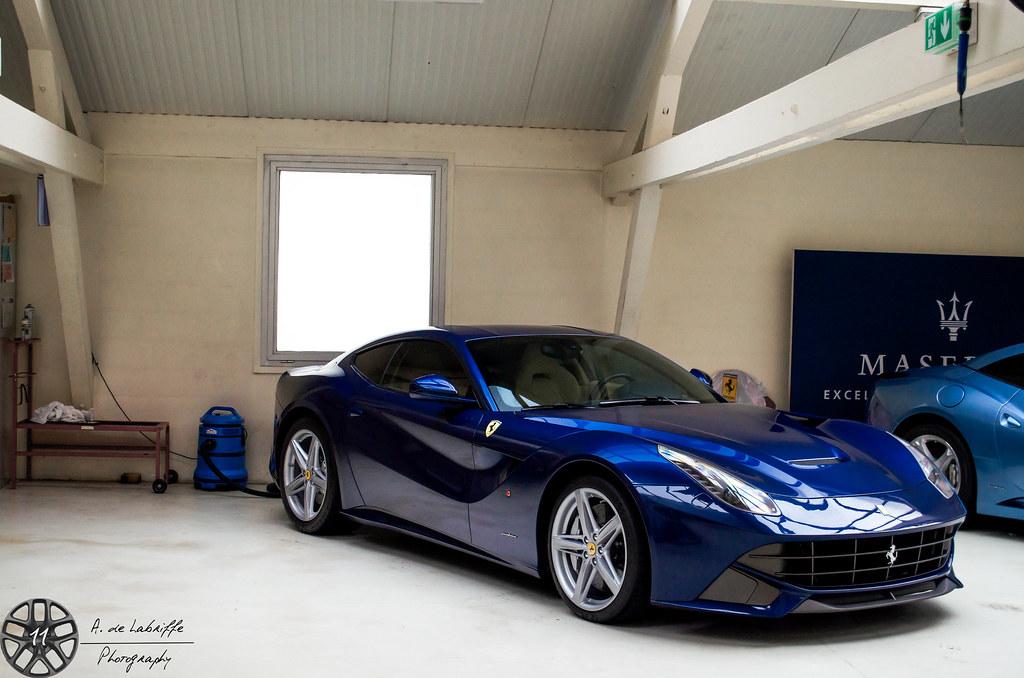 Blue Pozzi | Ferrari F12 Berlinetta Paris, France My ...