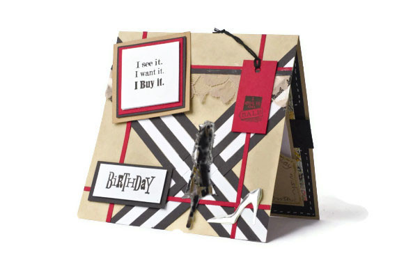 Burberry Fashion Birthday Card Bespoke Handmade Cards By T Flickr