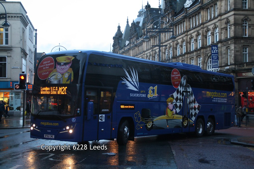 London Vehicle Finder >> Stagecoach Megabus 54203 SF62CMZ Volvo B11RT Plaxton Elite… | Flickr