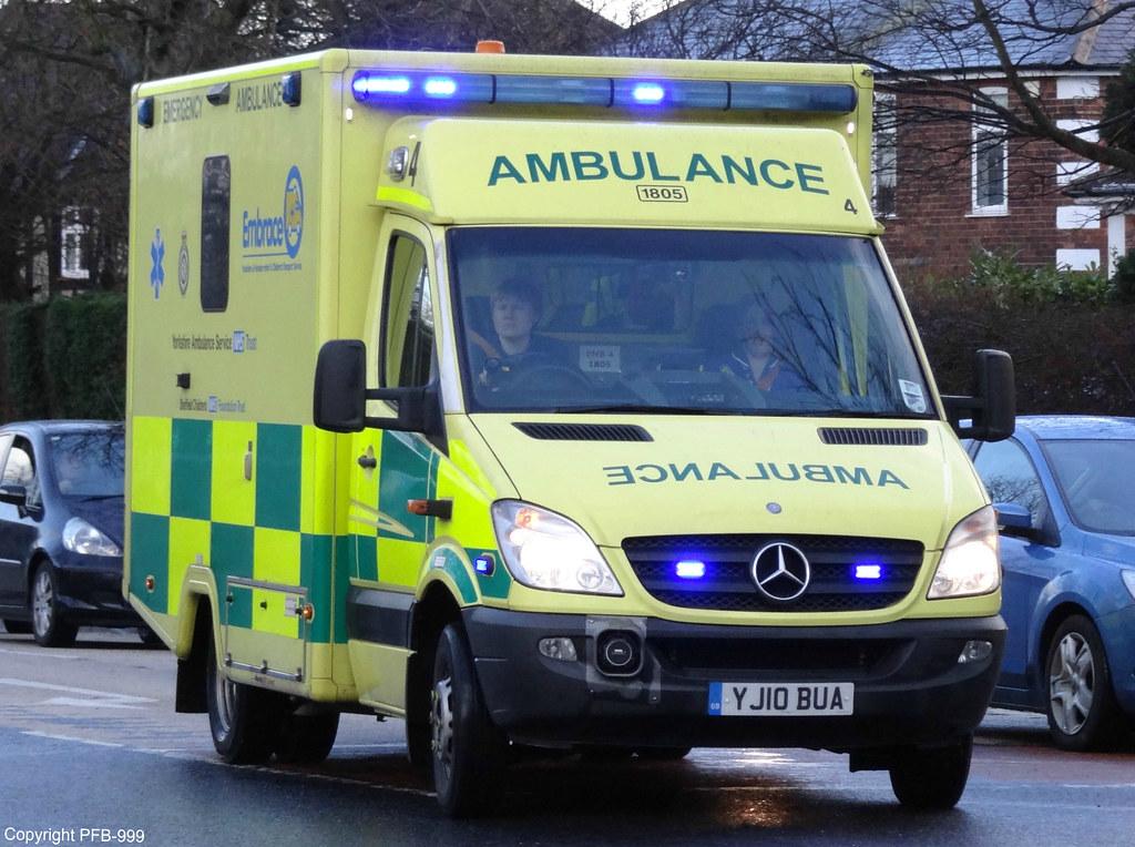 Yorkshire ambulance service mercedes sprinter infant chi for Embrace by mercedes benz