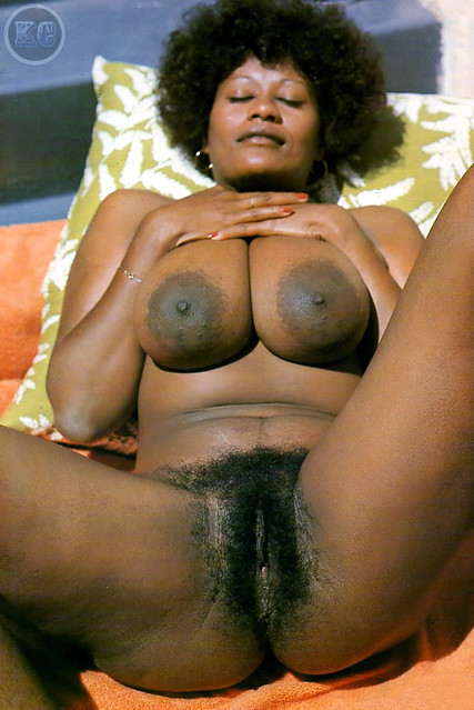 Vintage hairy ebony