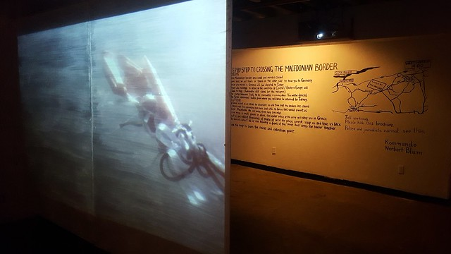 "RU Exhibition: Zorica Zafirovska, ""Border Crossing"""