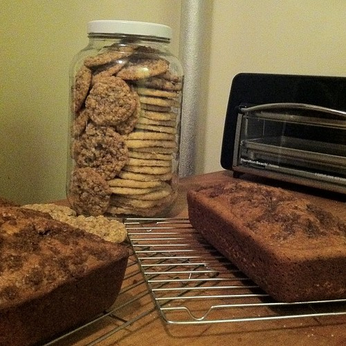 of pumpkin bread + more oatmeal-raisin and chai spice sugar cookies ...