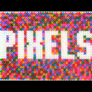 Pixels are my life. Finally used those plastic things you bought me @ash_brennan | by Dominique Falla
