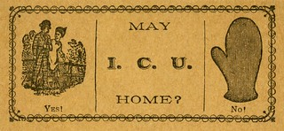 May I. C. U. Home? Yes! / No! | by Alan Mays