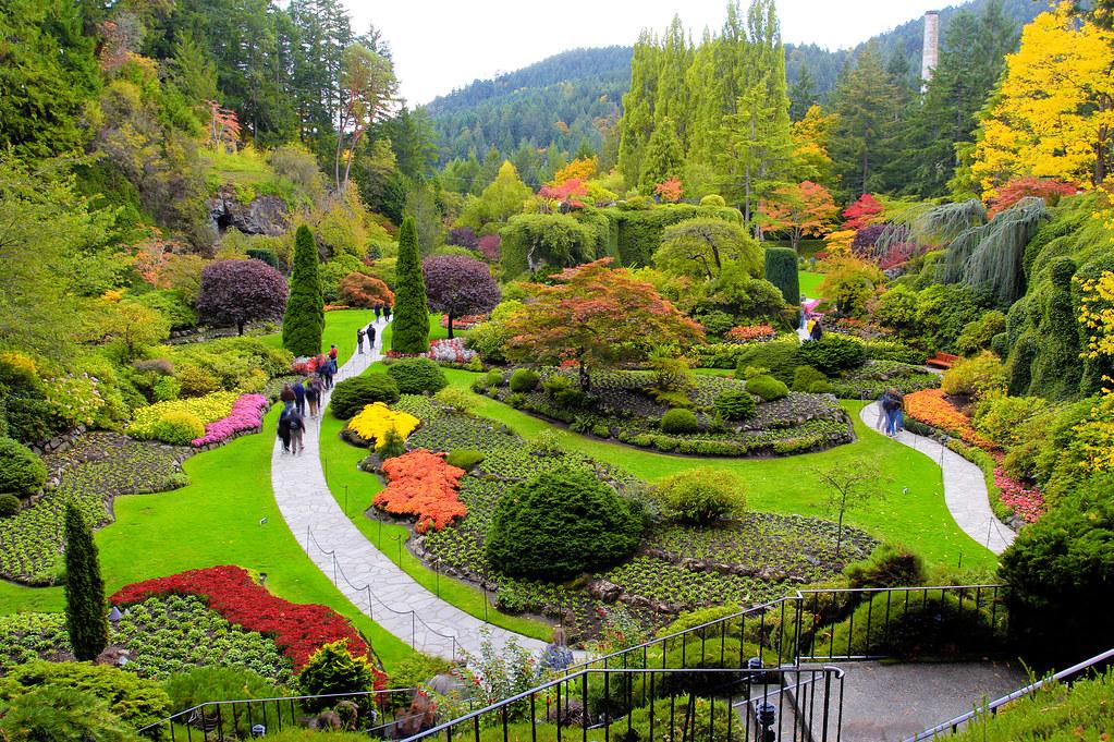 Butchart Gardens Vancouver Island The Butchart Gardens
