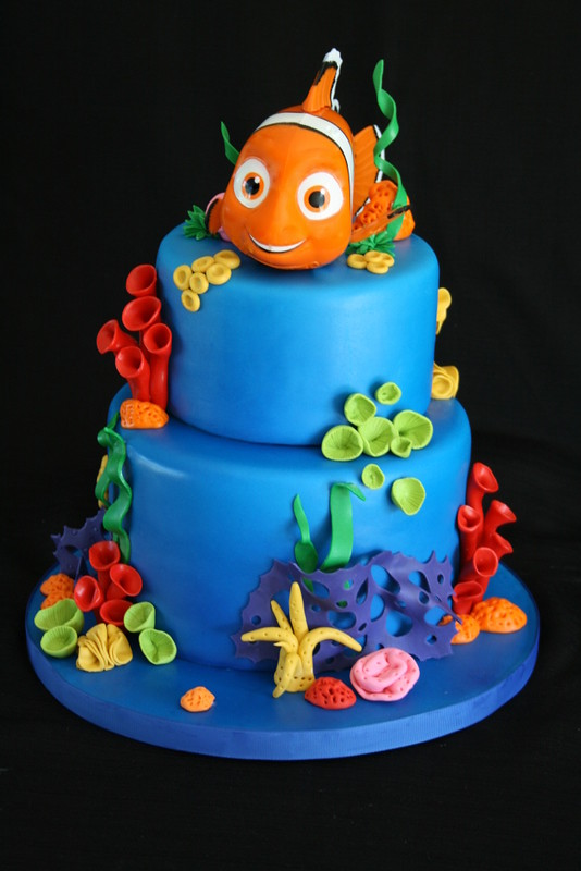 Nemo Cake I fell in love with this design the minute I ...