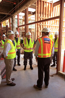 Navy Surgeon General Takes a Tour on New Naval Hospital Construction Site | by NAVFAC