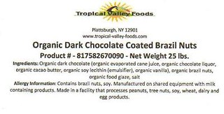 RECALLED - Chocolate and Trail Mix Bulk Items | by The U.S. Food and Drug Administration