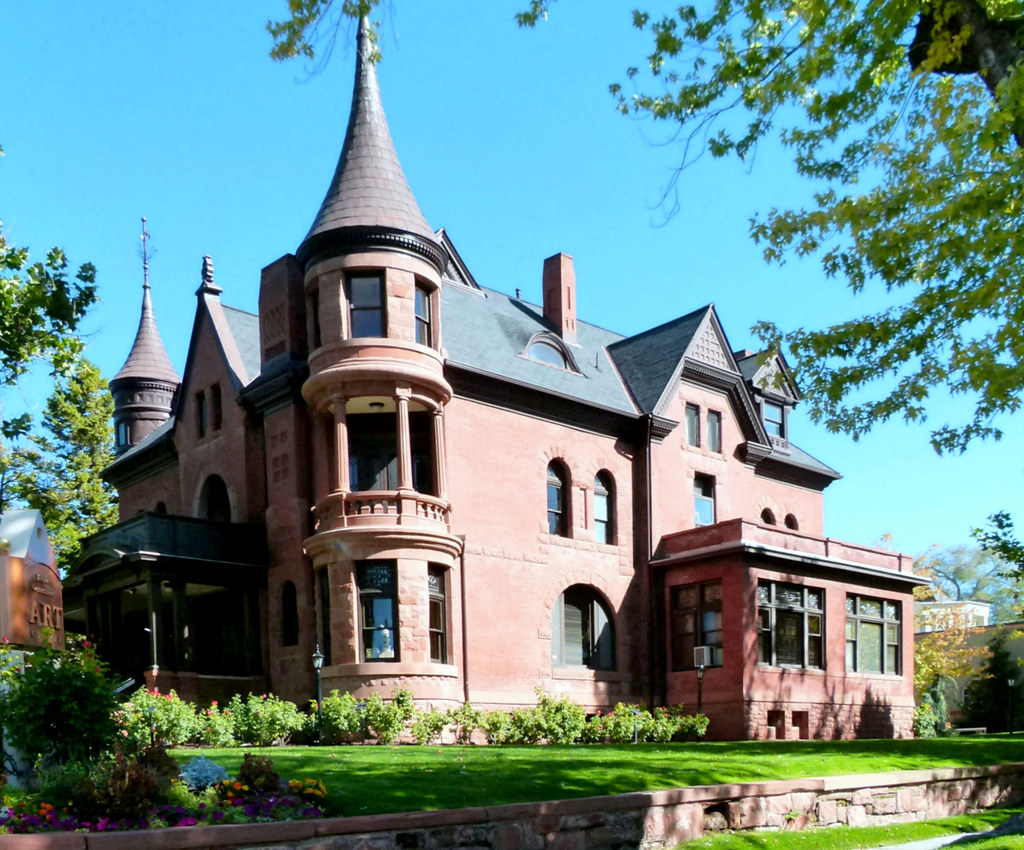 David Eccles Mansion Ogden Utah Now The Eccles