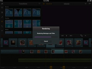 Rendering Video Clips in Pinnacle Studio for iPad | by Wesley Fryer