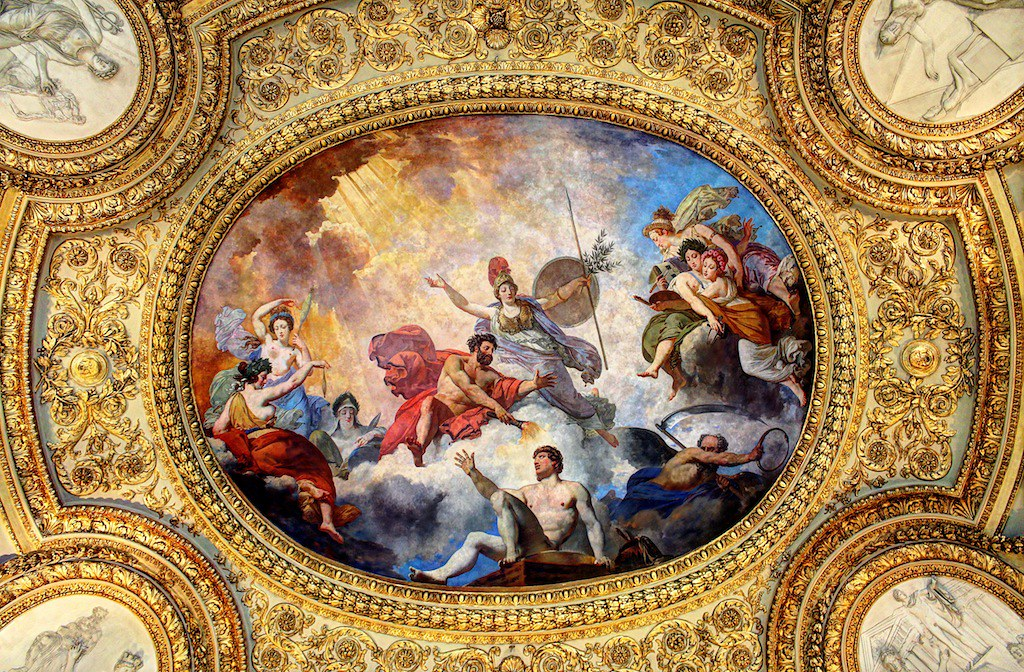 Louvre Ceiling Painting Shaker Media Flickr