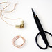 hardware store necklace DIY