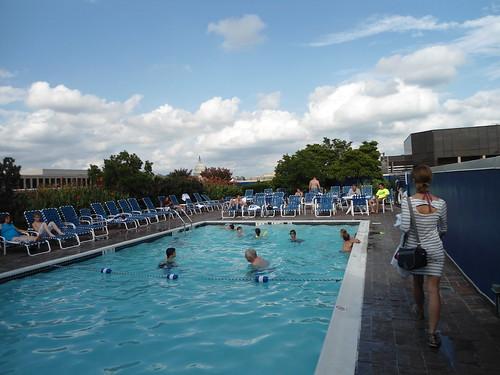 Piscina Swimming Pool Holiday Inn Washington Capitol Ho Flickr
