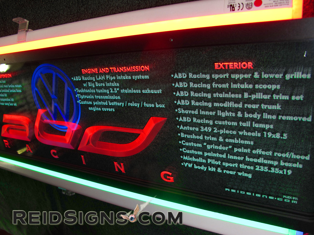 LED Enhanced Displays And Environments