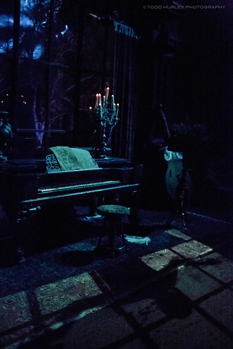 Haunted Mansion Ghost Piano Player Walt Disney World The