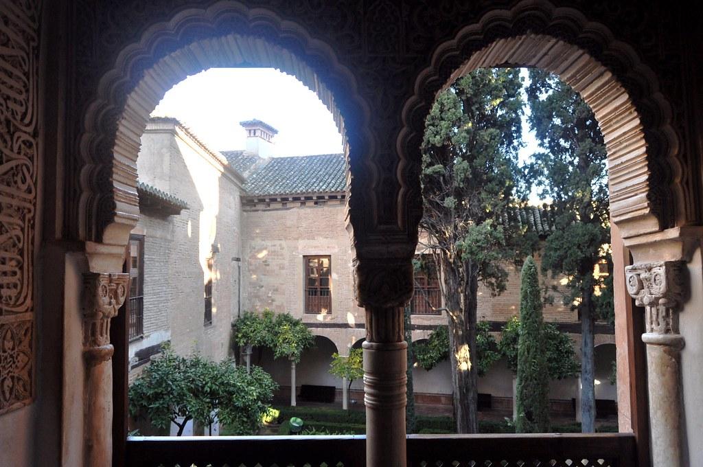 Granada la alhambra patio de lindaraja desde el mirador - Abella granada ...