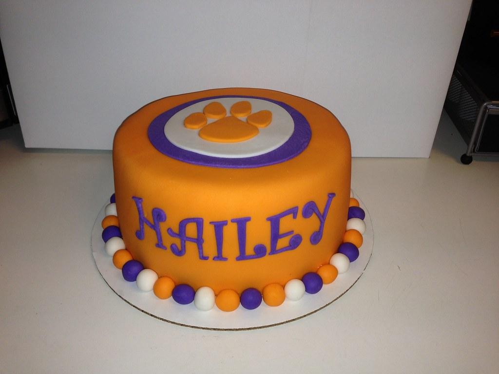 Clemson Cake Amanda Bell Flickr