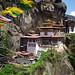 Perspective 2 on Tiger's Nest Monastery, Bhutan.
