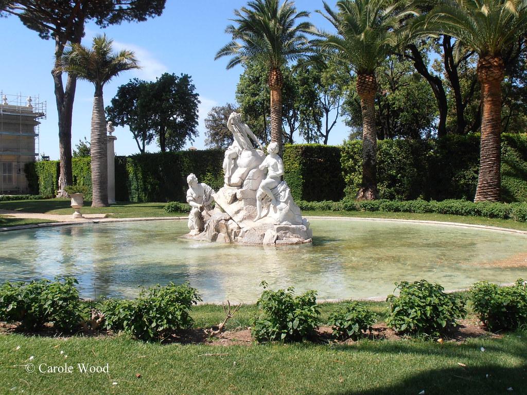 Quirinale piazza del palazzo del quirinale giardini flickr - I giardini di palazzo rucellai ...