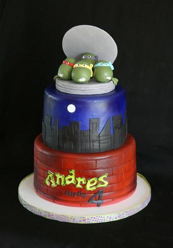 Ninja Turtle Cake Decorating Ideas
