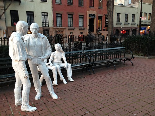 Homo monument is the name of the gay monument and