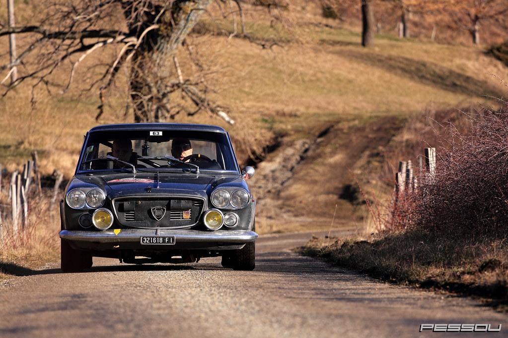 Lancia Flavia Coupe 18 1966 Rallye Monte Carlo Historiq Flickr