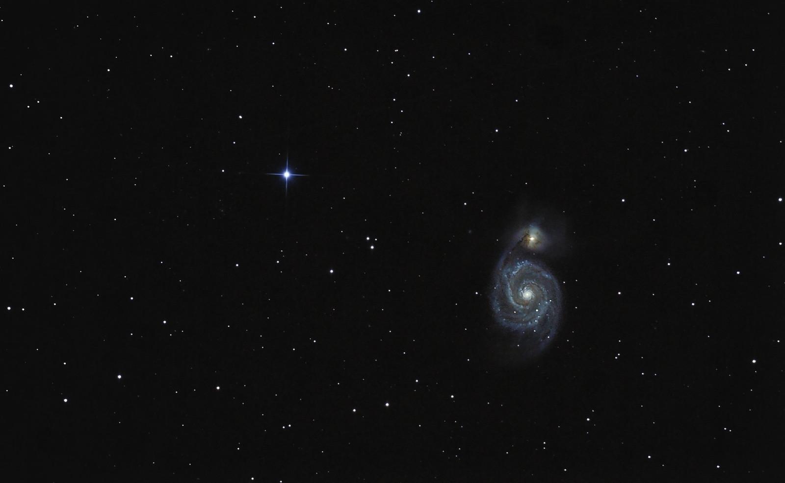 Un peu de COULEUR! M51 et M63 28742650225_b617155f8b_h