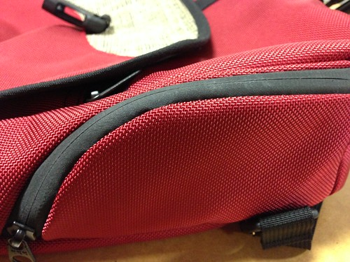 iPhone 5 zipped in the Imago phone pocket | by TOM BIHN