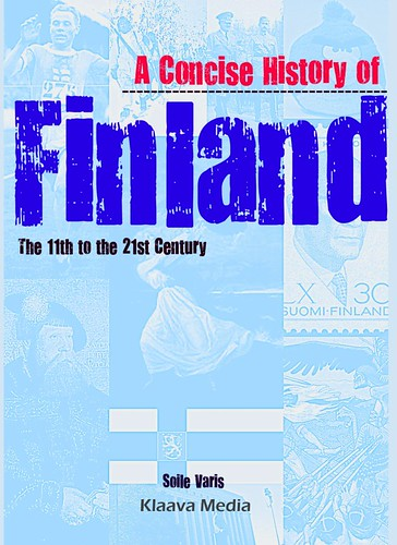A Concise History of Finland -book cover image | by Klaava Media