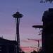 Space Needle Sunset 2