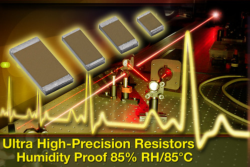 New FRST Wraparound Chip Resistors for High-Temperature Applications | by Vishay Foil Resistors