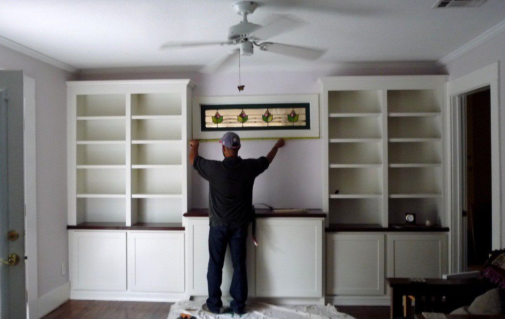 Custom Cabinets Houston Built Ins Bookcase Bookcases Built