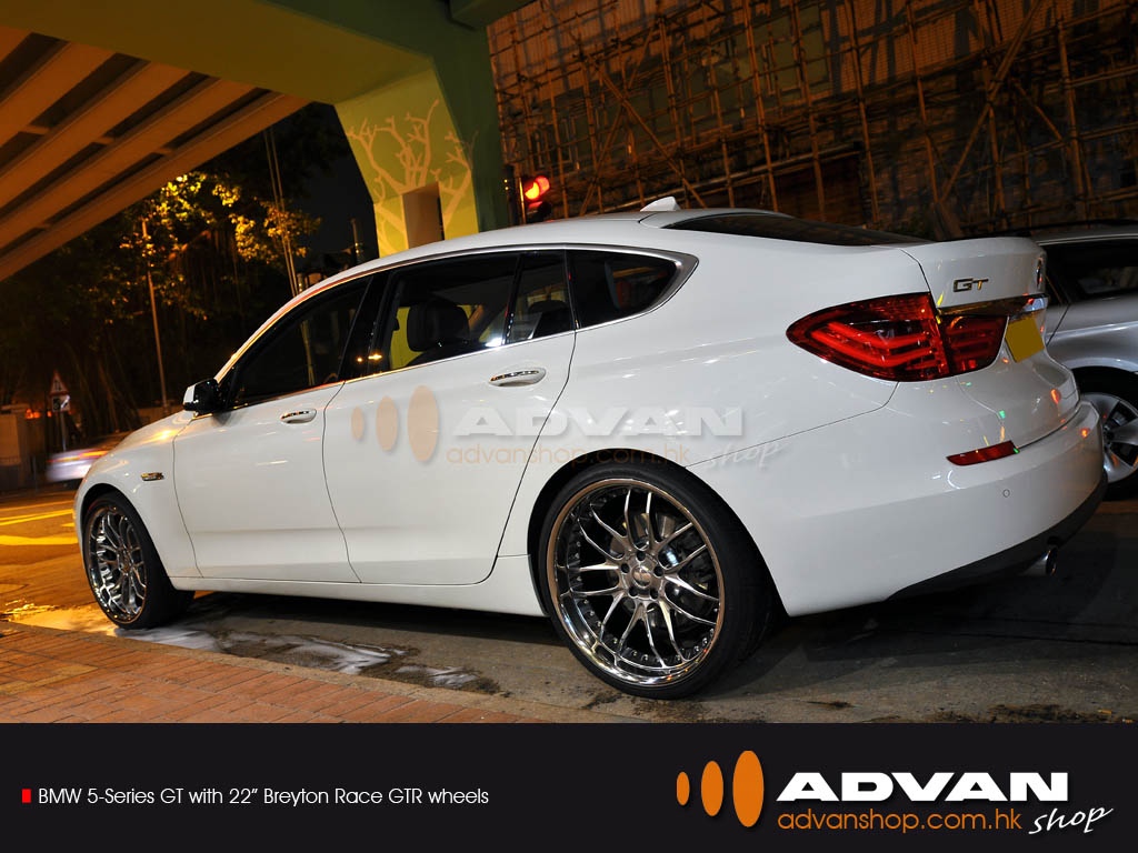 Bmw 5 Series Gt With 22 Quot Breyton Race Gtr Wheels Advan