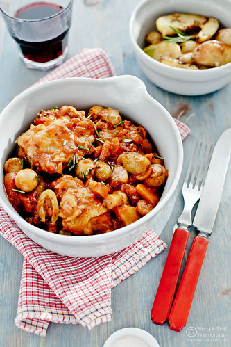 Pollo Alla Cacciatore-(0395) by Meeta K. Wolff | by Meeta Wolff @ What's For Lunch, Honey?