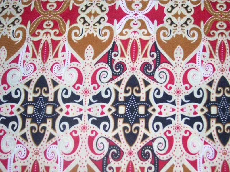 Contoh Batik Kalimantan Timur Sinter D